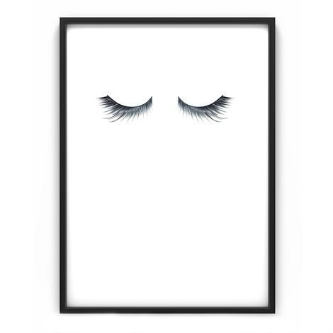 The Nordic Poster Eyelashes Juliste 50x70 cm
