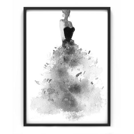 The Nordic Poster Feather Skirt Juliste 50x70 cm