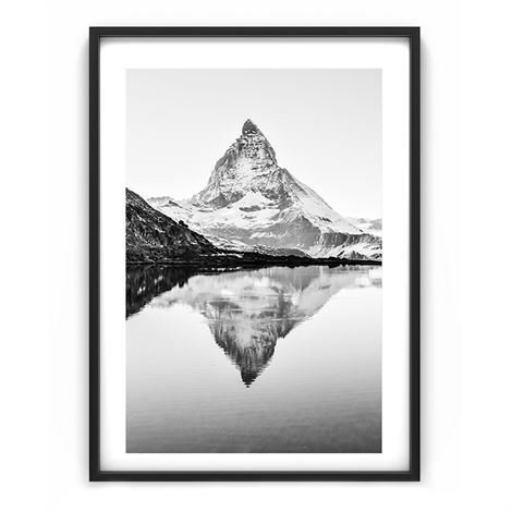 The Nordic Poster Mountain Juliste 50x70 cm
