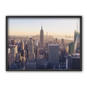 The Nordic Poster Skyscrapes Juliste Harmaa 50x70 Cm