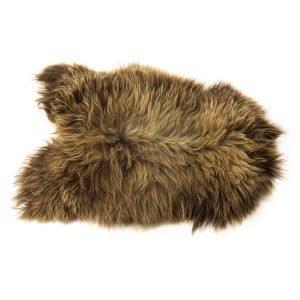 The Organic Sheep Longhair Lampaannahka Ruskea 70x110 Cm