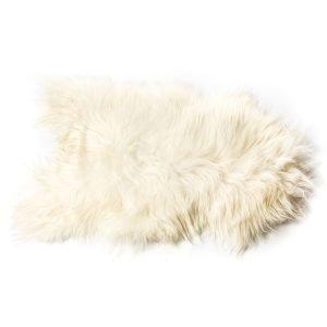 The Organic Sheep Longhair Lampaannahka Valkoinen 70x110 Cm