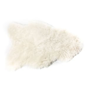 The Organic Sheep Shorthair Lampaannahka Valkoinen 50x100 Cm