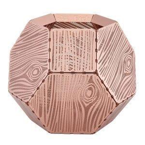 Tom Dixon Etch Kynttilälyhty Wood Kupari