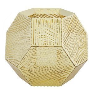 Tom Dixon Etch Kynttilälyhty Wood Messinki