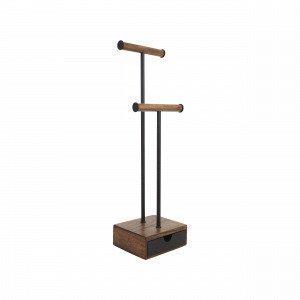 Umbra Pillar Jewelry Stand Koruteline Saksanpähkinä 16.5x13 Cm