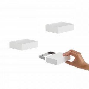 Umbra Showcase Seinähylly Valkoinen 2.5x10.2 Cm
