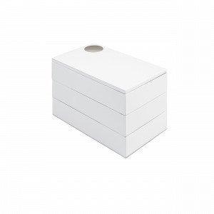 Umbra Spindle Säilytyslaatikko Valkoinen 12x19 Cm