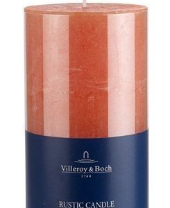 Villeroy & Boch Ess. New Candles Rustic Steariinikynttilä Orange 7x13