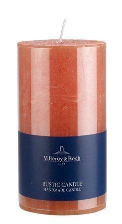Villeroy & Boch Ess. New Candles Rustic Steariinikynttilä Orange 7x13
