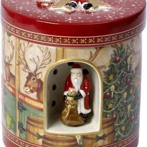 Villeroy & Boch Soittorasia Christmas Toys Iso Pyöreä Porotalli 21 Cm