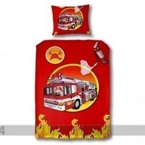 Vipack Lasten Vuodevaatesetti Fire Truck