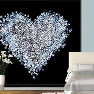 Visario Kuvatapetti Heart Of Diamond 300x280 Cm