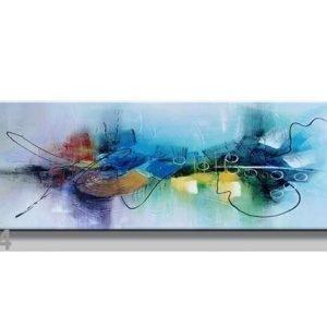 Visario Seinätaulu Abstrakt 120x40 Cm