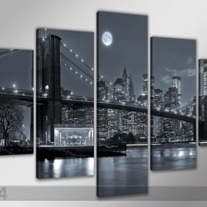 Visario Viisiosainen Seinätaulu New York 200x100 Cm