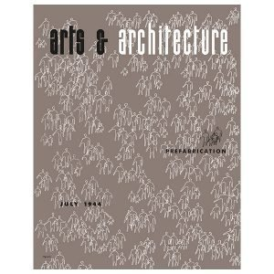 Vitra Cover Print Juliste Arts & Architecture July 1944