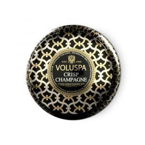 Voluspa 2 Wick Tuoksukynttilä Crisp Champagne 50 H