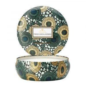 Voluspa 3 Wick Tuoksukynttilä French Cade / Lavender Ltd 60h