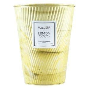 Voluspa Macaron Tuoksukynttilä Lemon Coco 100 H