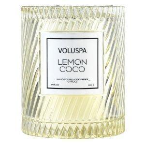 Voluspa Macaron Tuoksukynttilä Lemon Coco 55 H