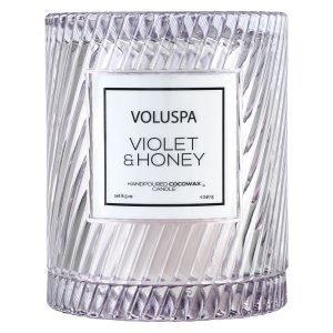 Voluspa Macaron Tuoksukynttilä Violet & Honey 55 H