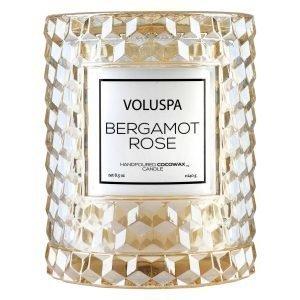 Voluspa Roses Tuoksukynttilä Bergamot Rose 55 H