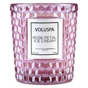 Voluspa Roses Tuoksukynttilä Rose Petal Ice Cream 40 H