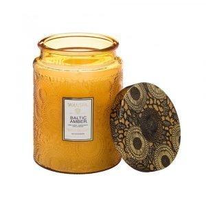 Voluspa Tuoksukynttilä Baltic Amber Ltd 100+ H