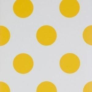 Wallpaper By Ellos Callie Tapetti Auringonkeltainen