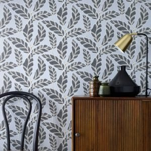 Wallpaper By Ellos Fairy Tapetti Harmaa