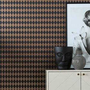Wallpaper By Ellos Leanne Tapetti Sininen