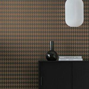 Wallpaper By Ellos Leanne Tapetti Vihreä