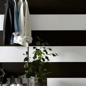 Wallpaper By Ellos Maja Tapetti Musta
