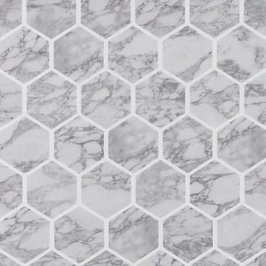 Wallpaper By Ellos Marble Tapetti Harmaa