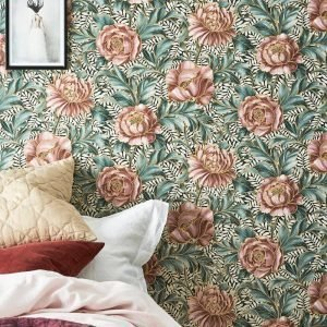 Wallpaper By Ellos Penelope Tapetti Roosa