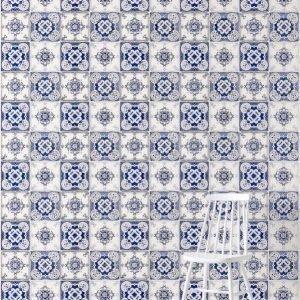 Wallpaper By Ellos Ruth Taustatapetti Sininen