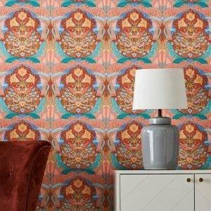 Wallpaper By Ellos Vendela Tapetti Monivärinen