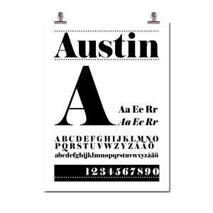 Wallstuff Austin Juliste
