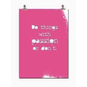 Wallstuff Passion Juliste