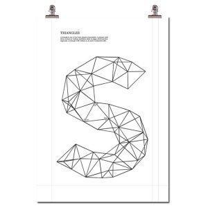 Wallstuff Triangle S Juliste
