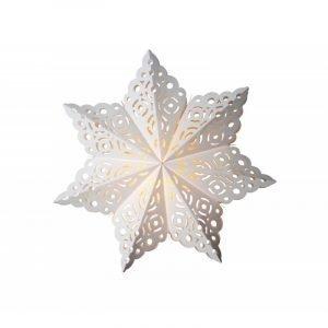 Watt & Veke Snöflinga Joulutähti Valkoinen 64 Cm