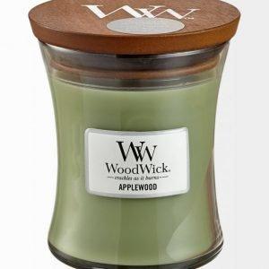 Woodwick Applewood Tuoksukynttilä 12 cm