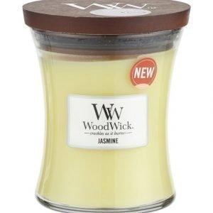 Woodwick Jasmine Tuoksukynttilä 12 cm