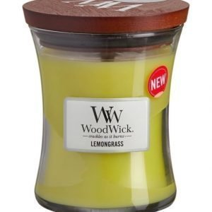 Woodwick Lemongrass Tuoksukynttilä 12 cm