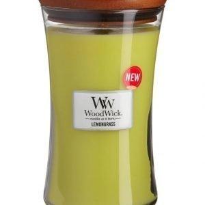 Woodwick Lemongrass Tuoksukynttilä 18 cm
