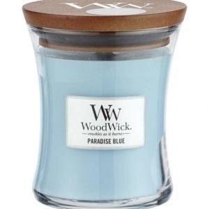 Woodwick Paradise Blue Tuoksukynttilä 12 cm