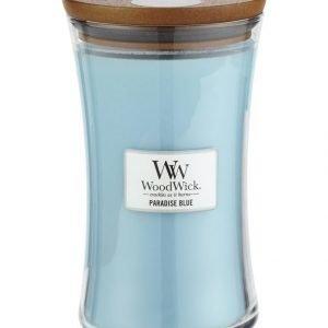 Woodwick Paradise Blue Tuoksukynttilä 18 cm