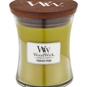 Woodwick Perfect Pear Tuoksukynttilä 12 cm