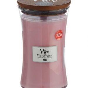 Woodwick Rose Tuoksukynttilä 18 cm