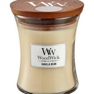 Woodwick Vanilla Bean Tuoksukynttilä 12 cm